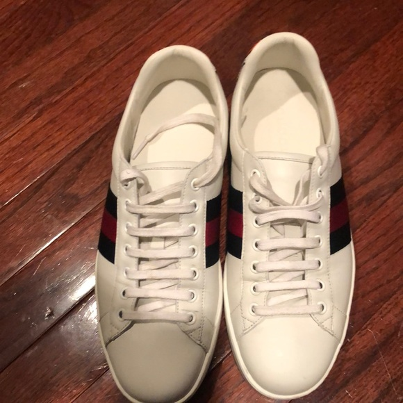 c7c664812 Gucci Shoes   Ace Sneakers With Tiger Patch   Poshmark